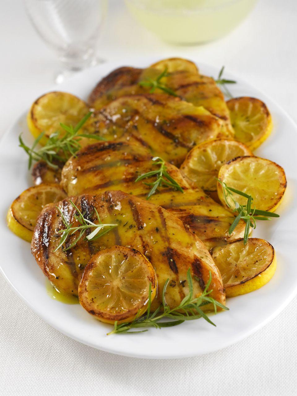 Chicken rosemary lemon butter sauce