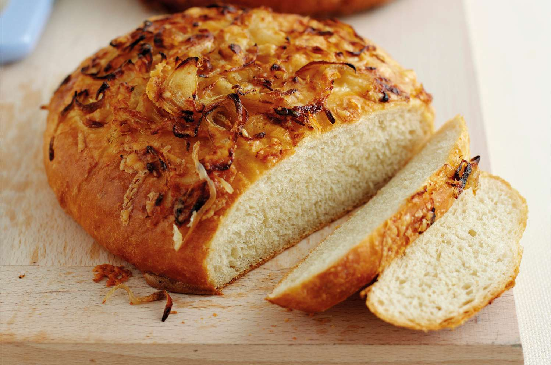 Chopped Onion Bread
