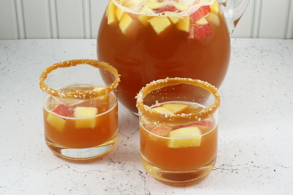 Salted Caramel Apple Punch