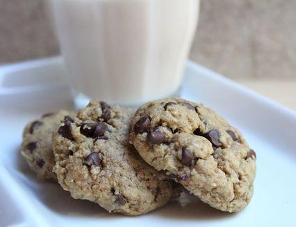 Chocolate Chip Sunbutter Cookies