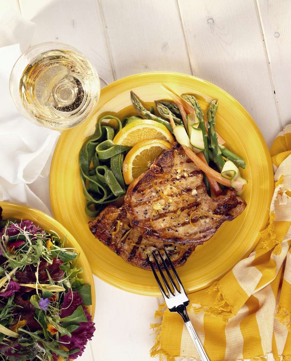 Orange-Herb Pork Chops