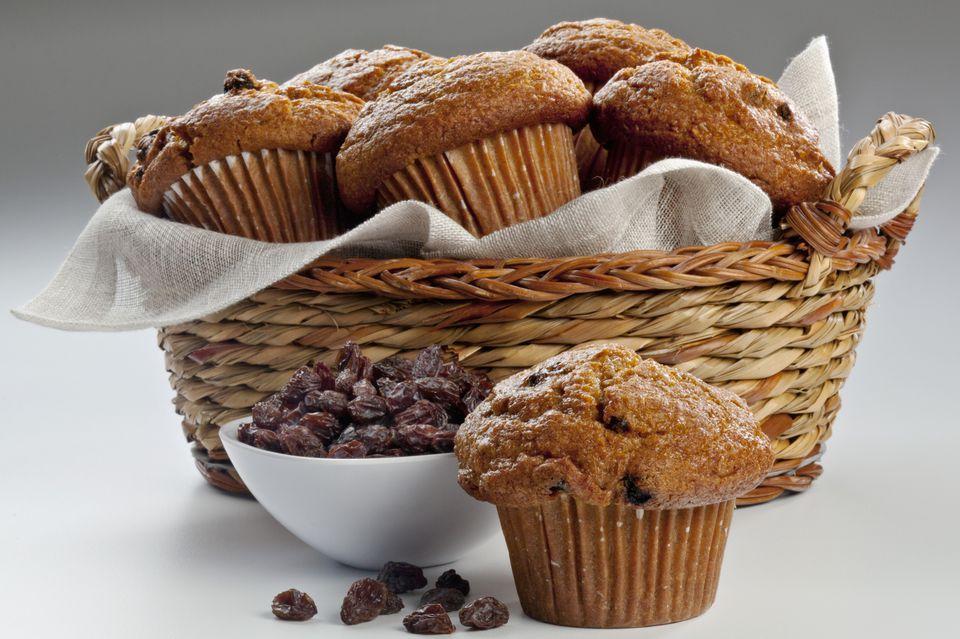 Plain basic bran muffins recipe