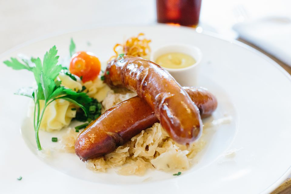 Sauerkraut, Apples, and Sausage