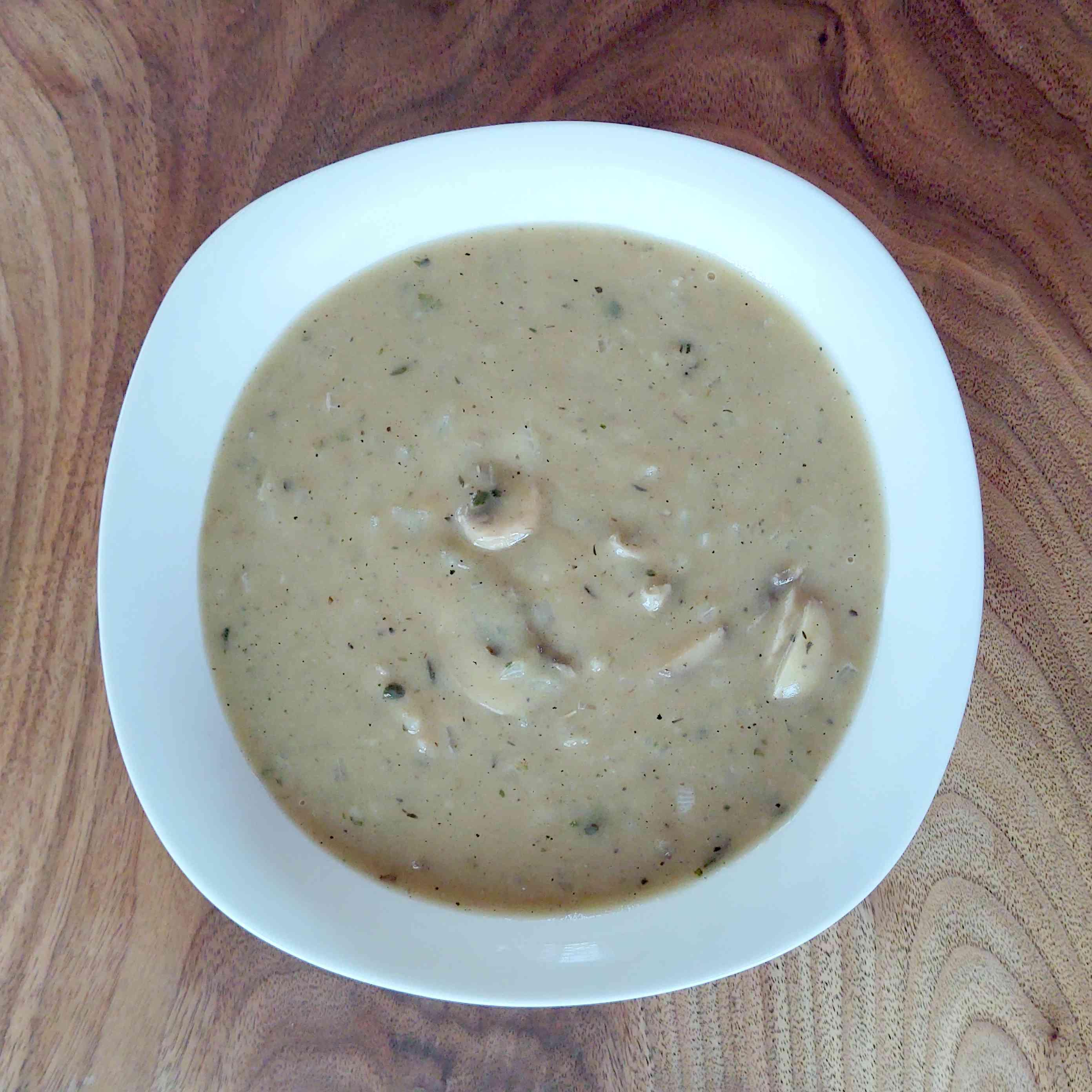 Vegetarian Mushroom Gravy - Tester Image