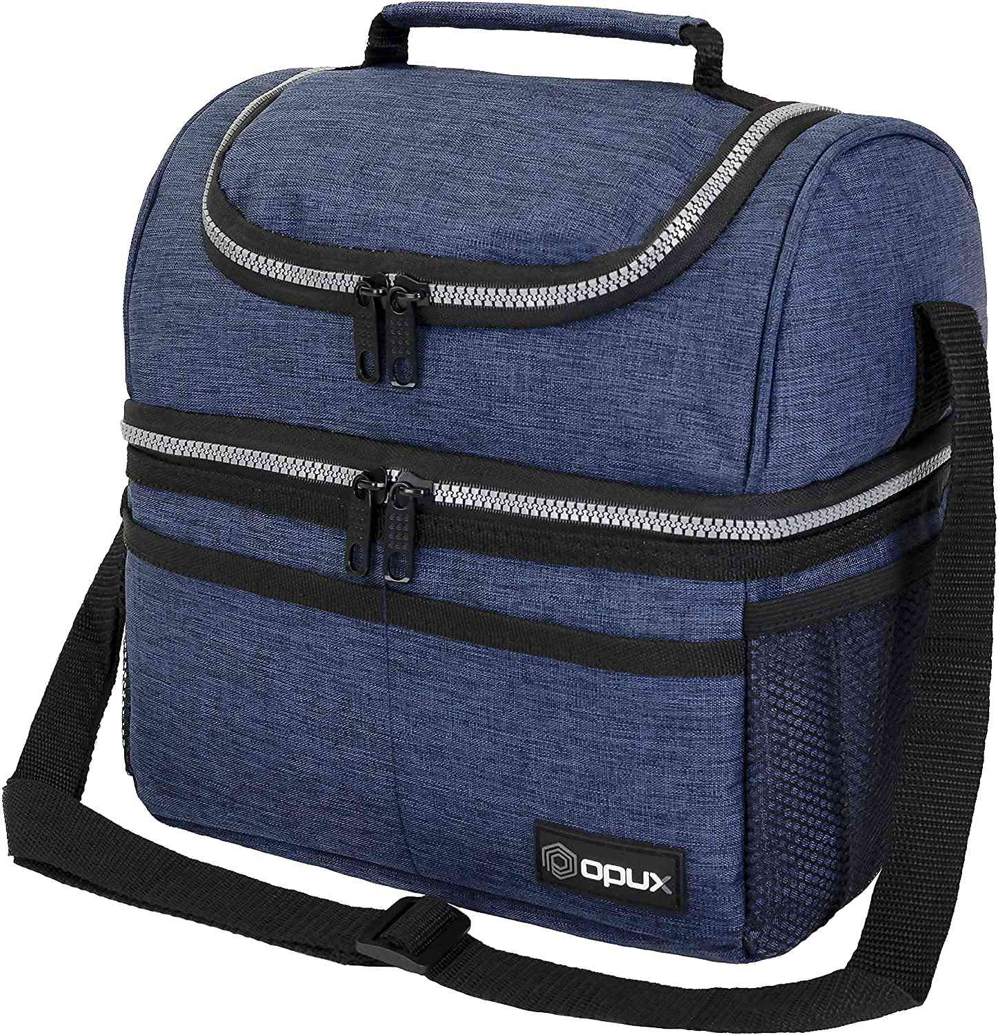 OPUX Insulated Dual Compartment Lunch Bag