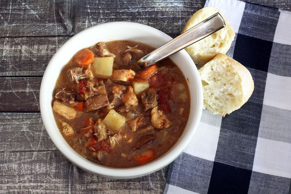 Beef and Chicken Stew