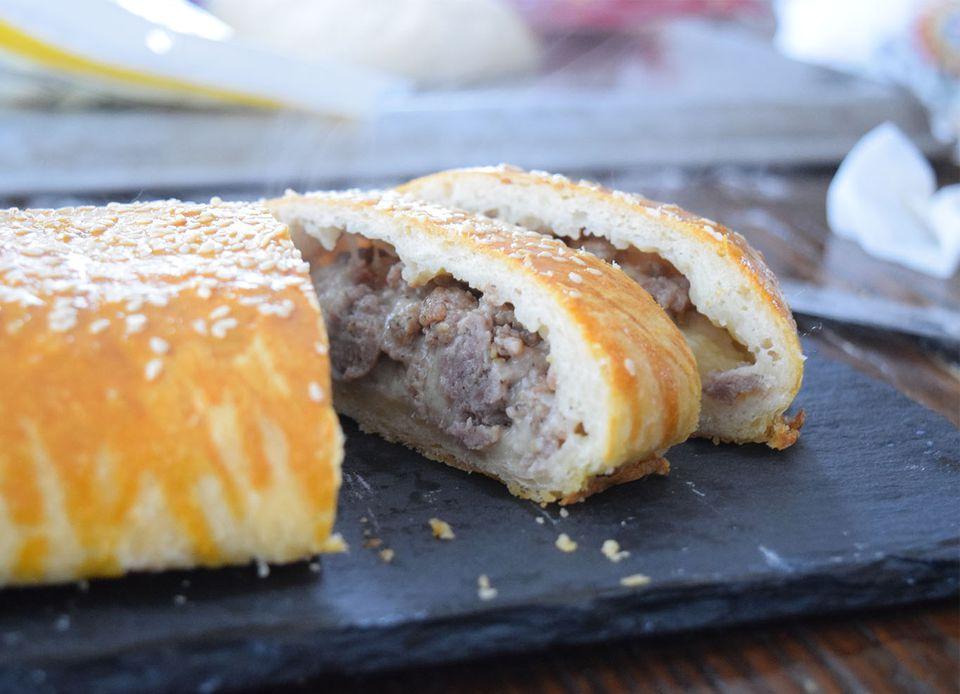 Nana's Sausage Bread