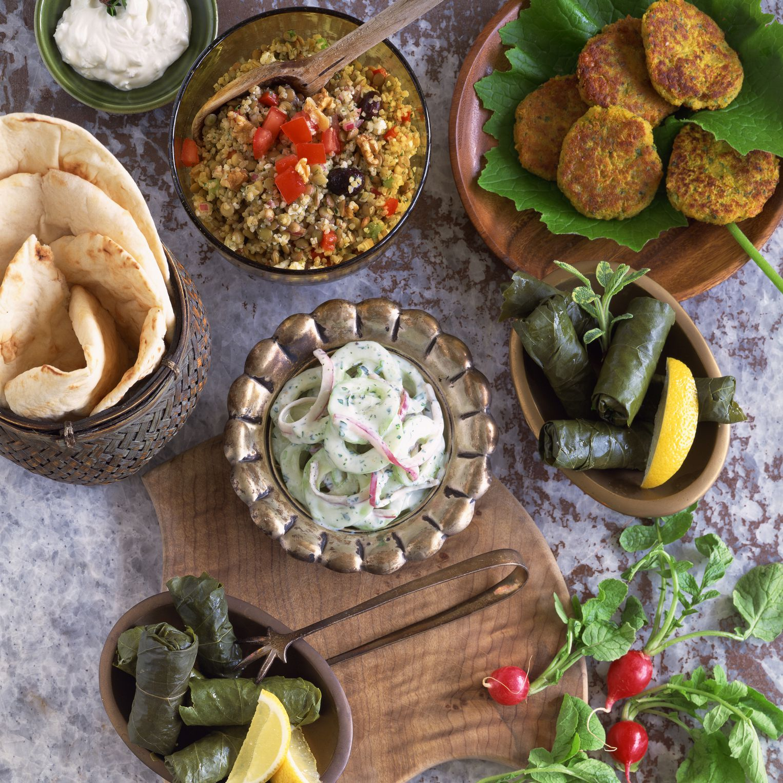 Traditional Greek Meze Table Guide