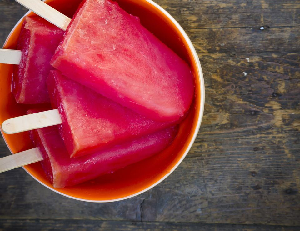 Vegan Watermelon Popsicles