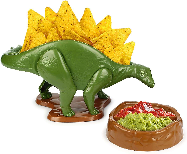 Funwares NACHOsaurus Dip and Snack Dish Set