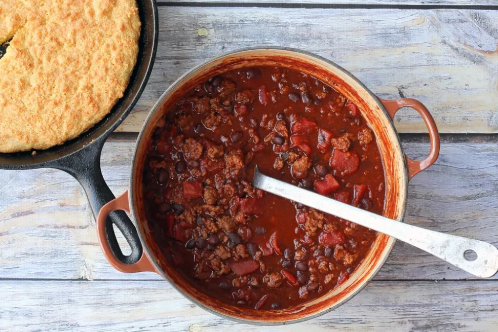 30-Minute Chili With Ground Beef and Beans