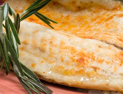Sauteed fillet of fish