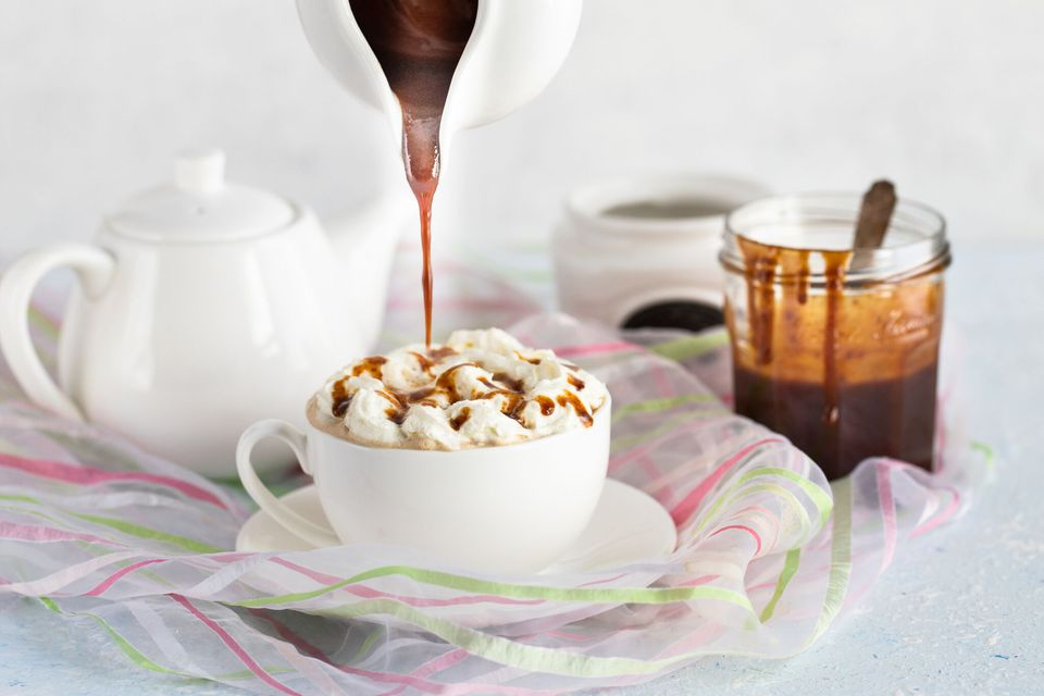 Easy Caramel Sauce Made With Milk
