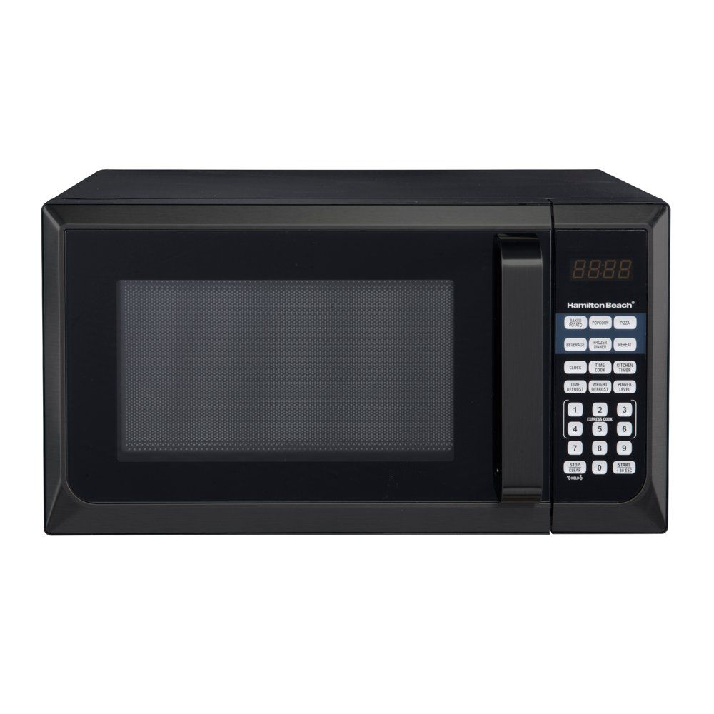 Hamilton Beach 0.9-Cubic Foot Stainless Steel Microwave Oven