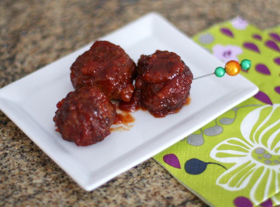 Spicy Marmalade Meatballs