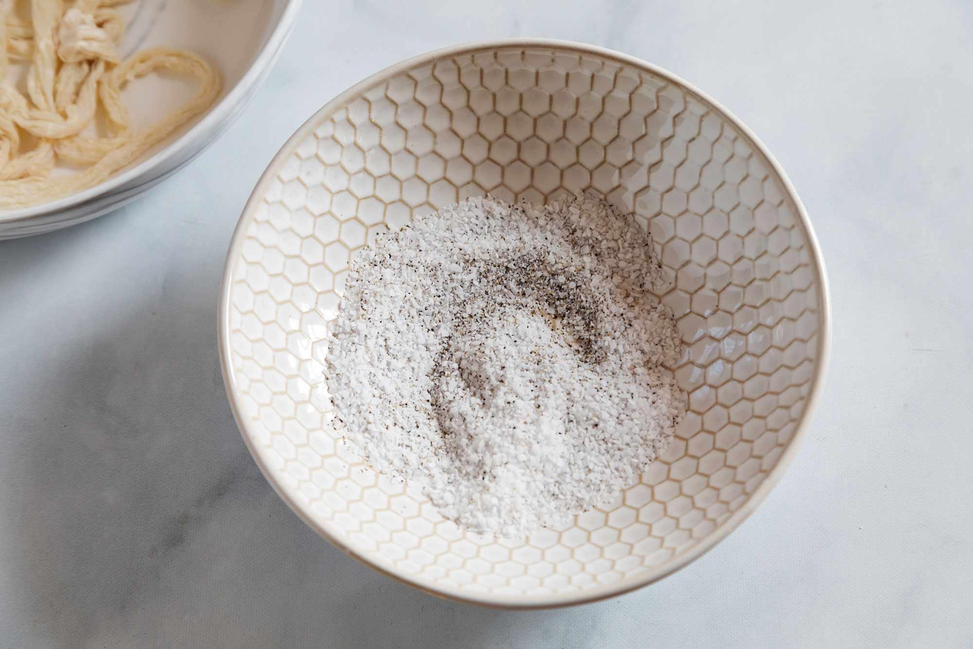 salt and fresh ground black pepper in a bowl
