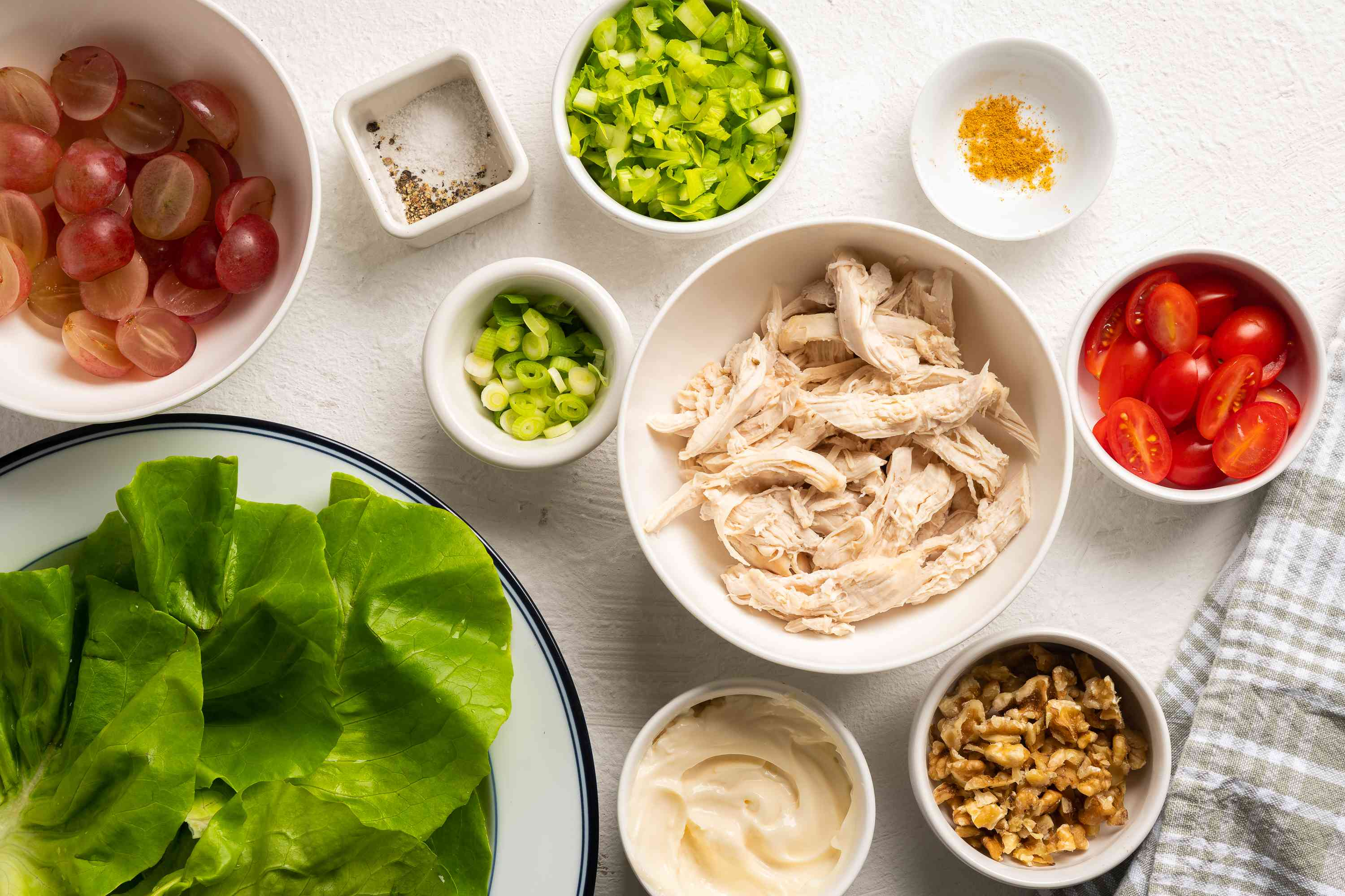 Simple Chicken Salad With Grapes ingredients