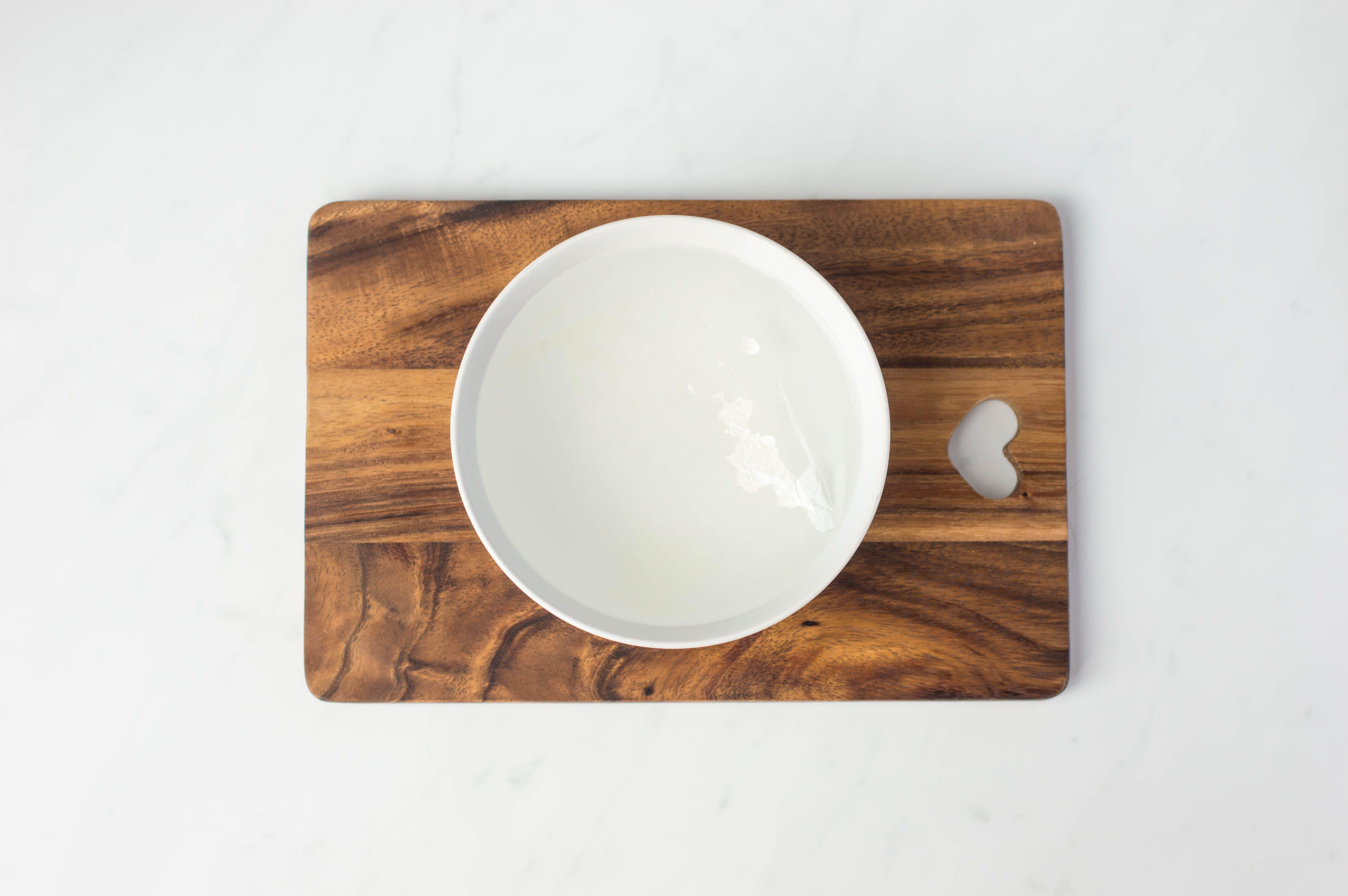Soak gelatin in cold water