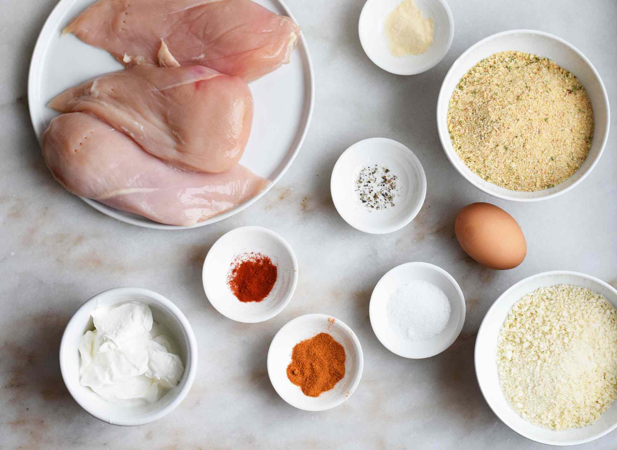 spicy chicken nugget ingredients