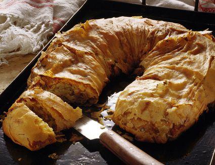 Savory Cabbage Strudel