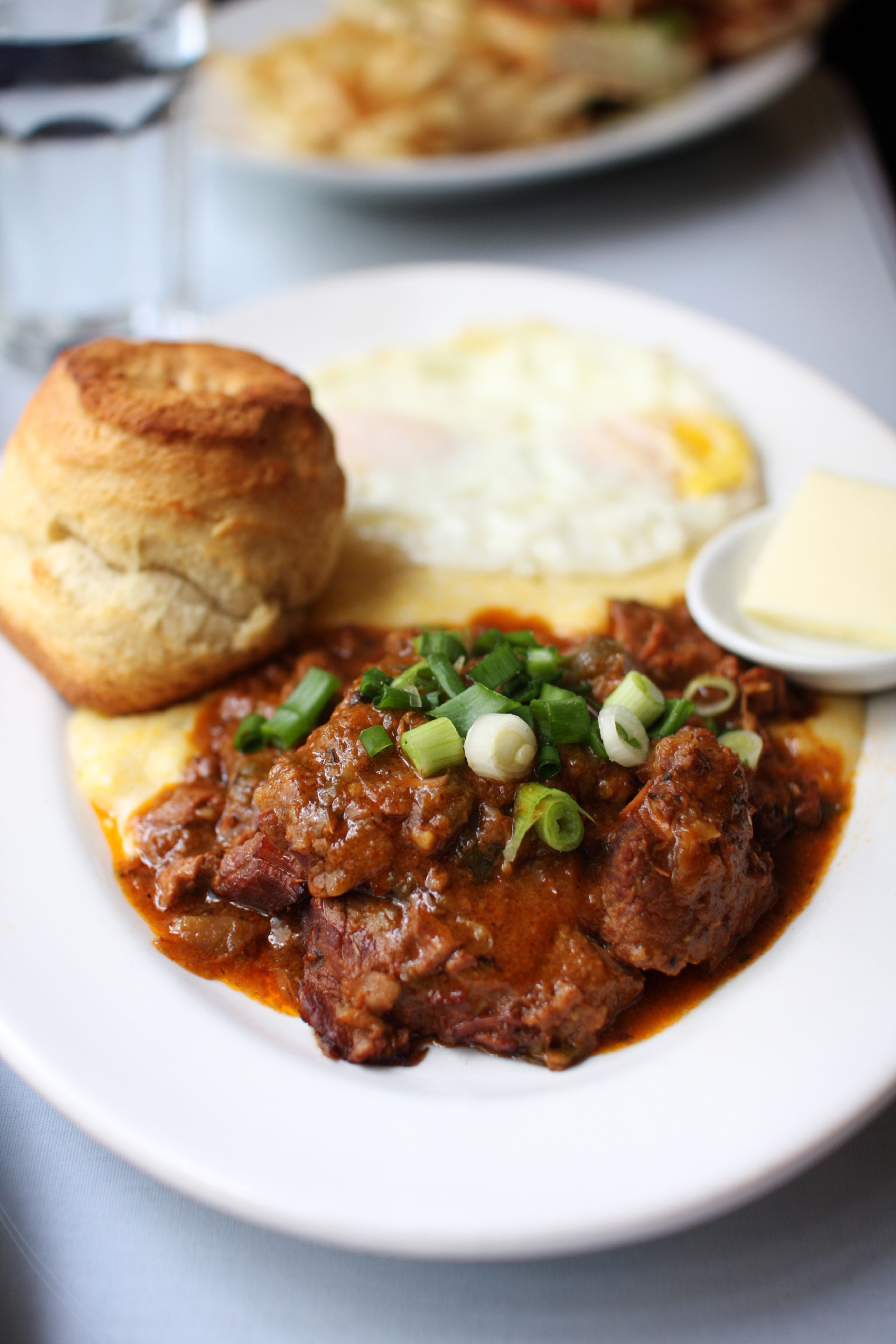 Louisiana Grillades and Grits
