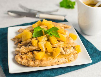 Grilled turkey chops recipe