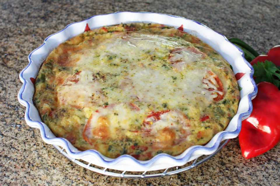 turkey quiche