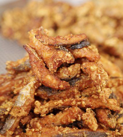 Fried Eel
