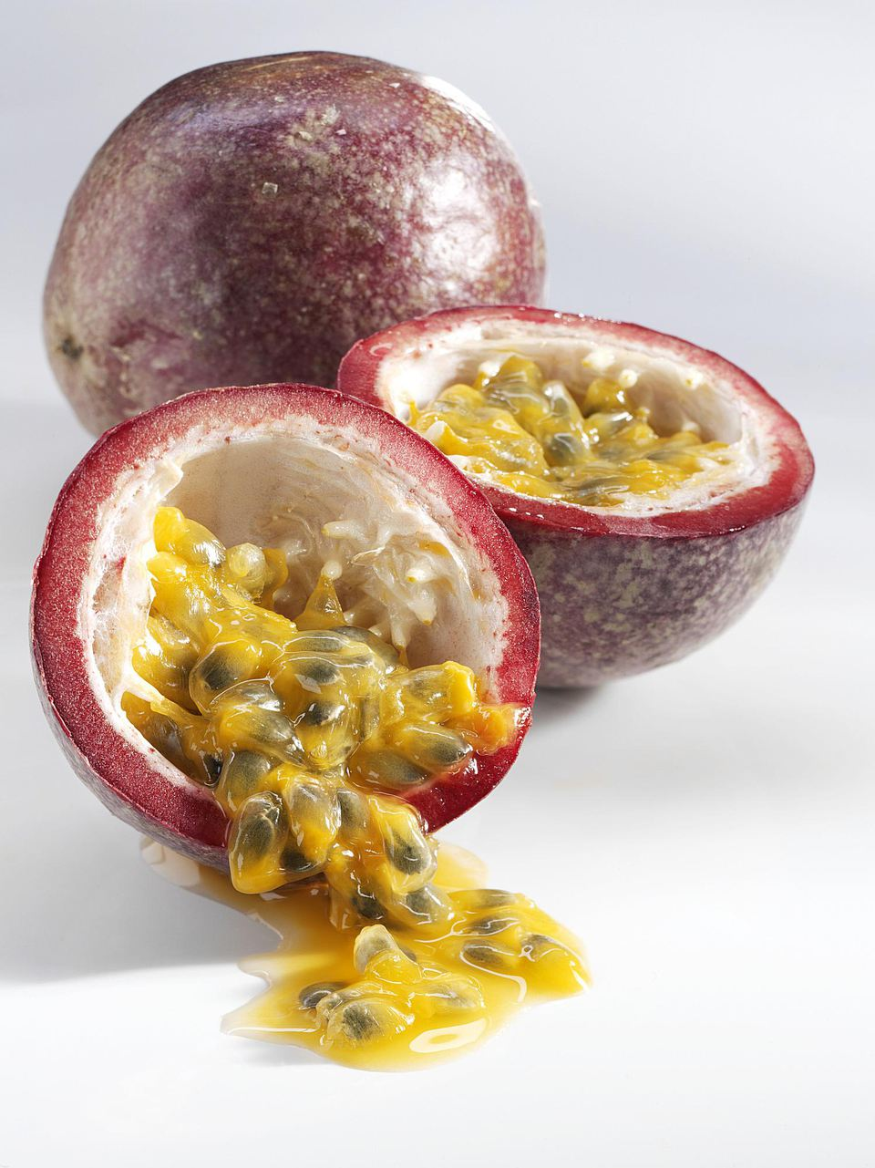 Passion fruit makes delicious truffles