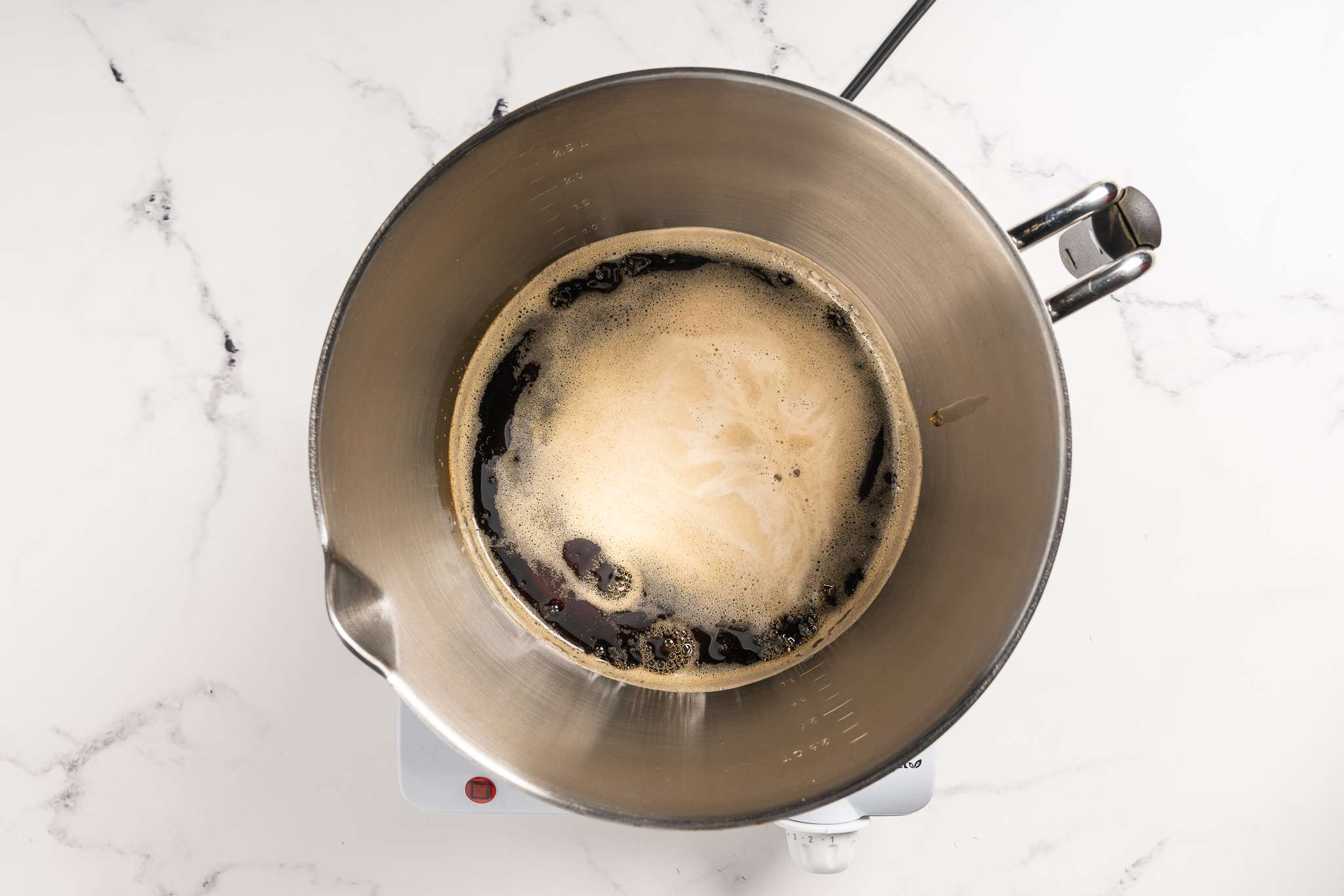 bring syrup to a boil