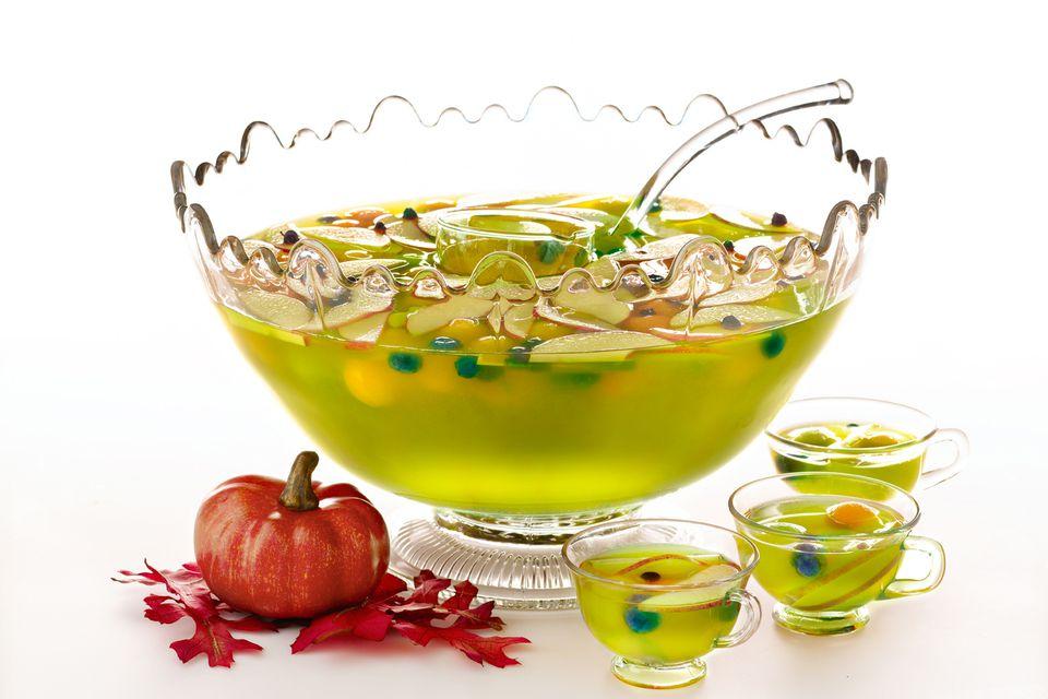 Halloween Harvest Punch - Midori Melon Liqueur