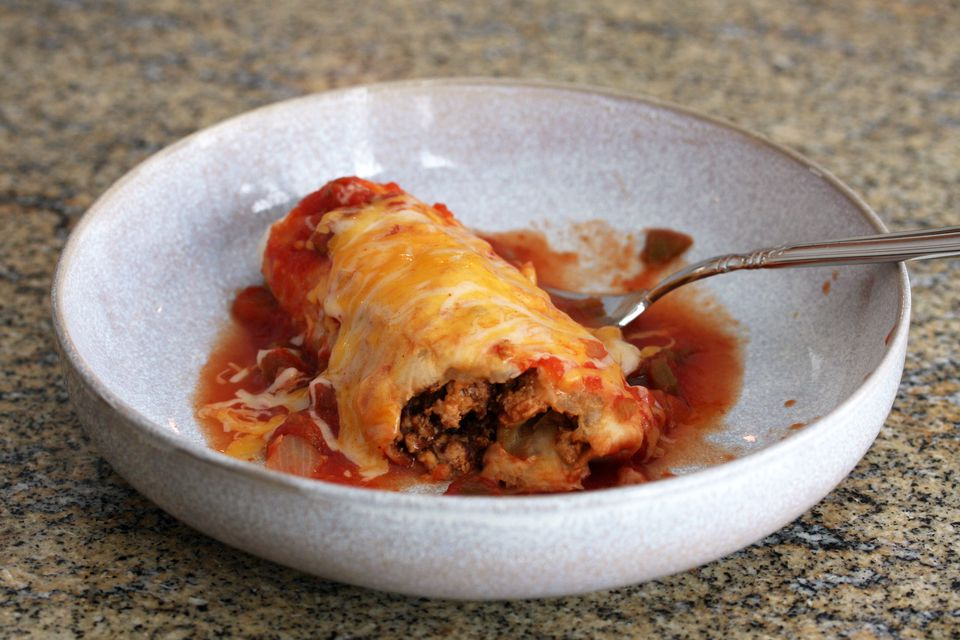 Ground Turkey Burritos