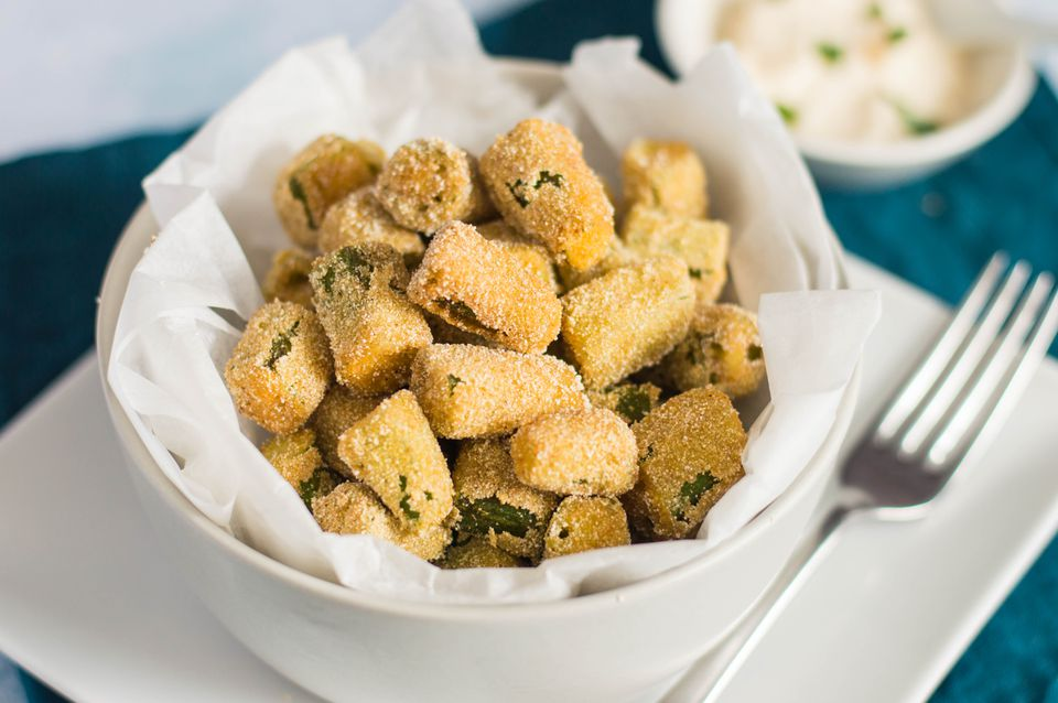 Deep-Fried Okra Recipe