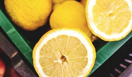 Fresh Lemons at the Market