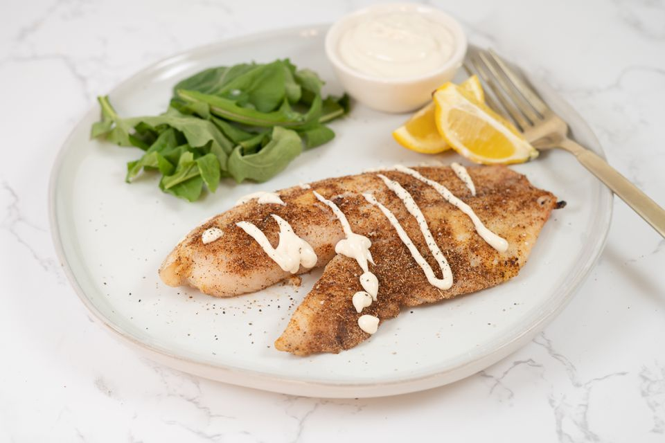 Spicy Tilapia with Aioli