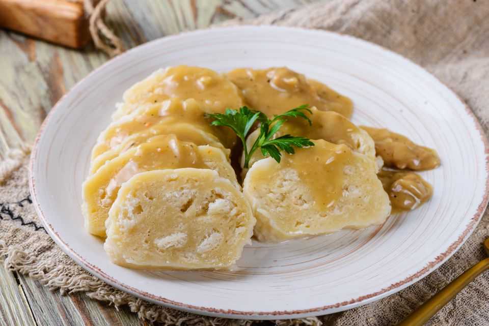 Traditional Czech bread dumplings recipe