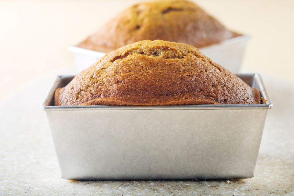 How to convert a muffin recipe into a quick bread loaf