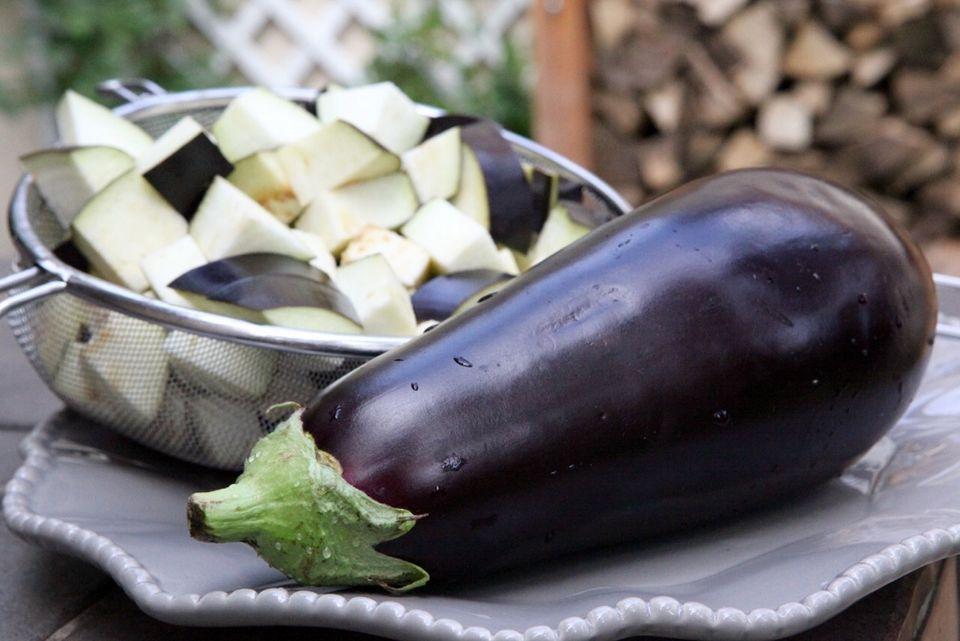 Close-Up Of Eggplants