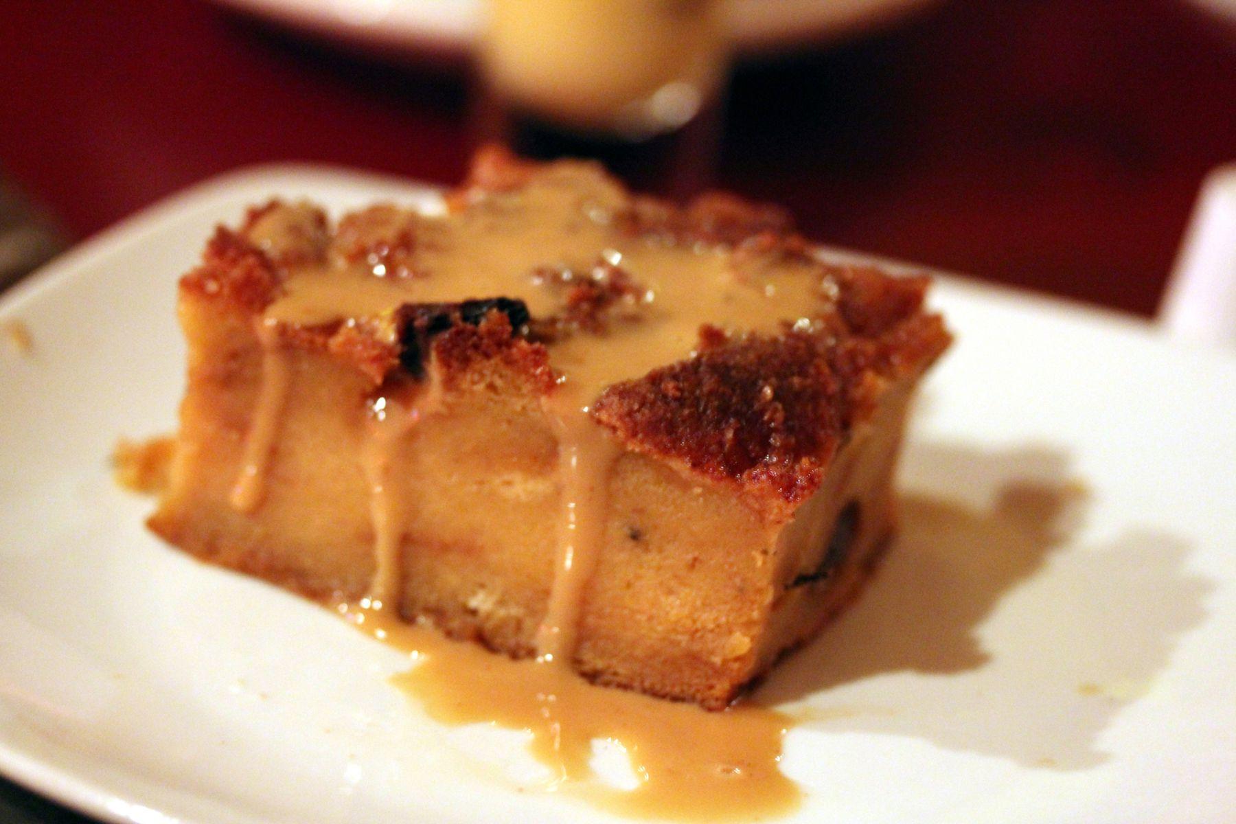 Bread Pudding With Vanilla Whiskey Sauce Recipe
