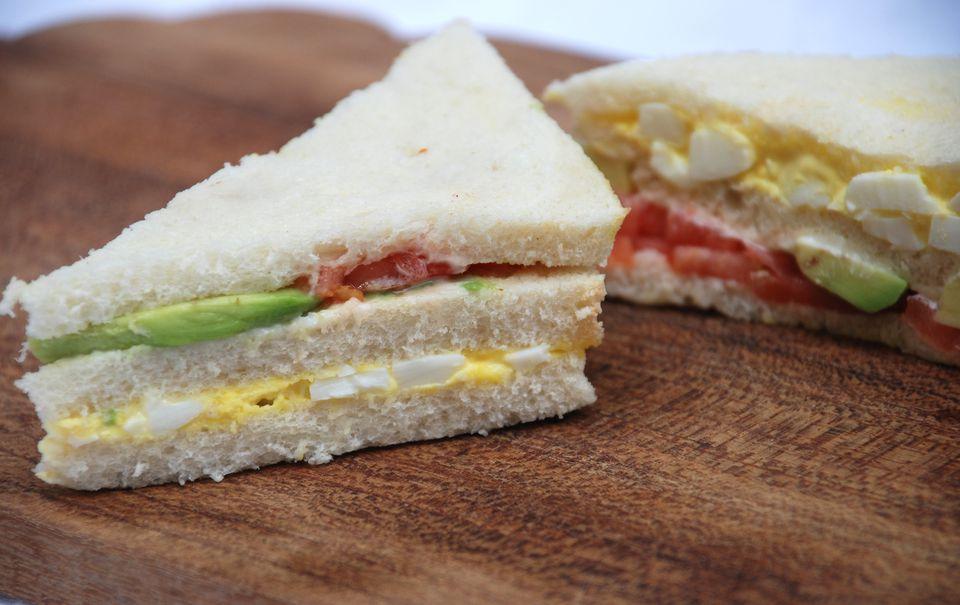 Triple Sandwich Peruano: Sándwich Triple