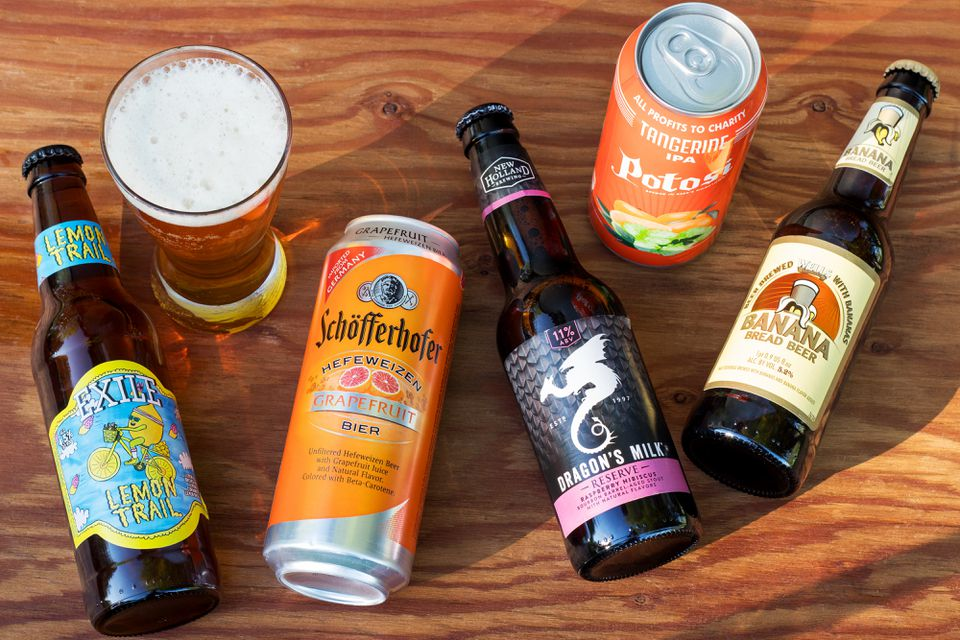 The 10 Best Fruit Beers Made for Summertime Sipping