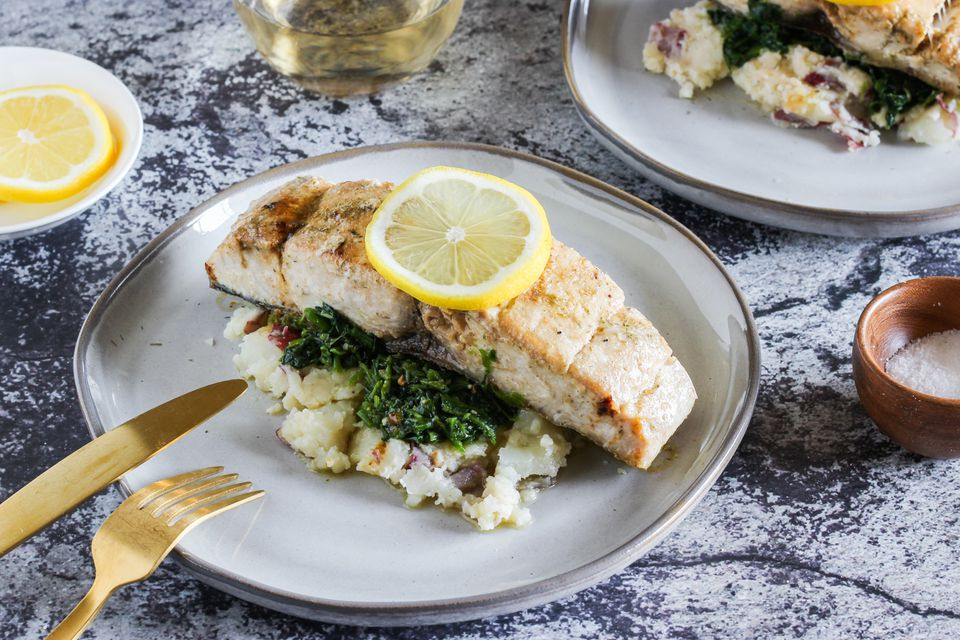 Mahi mahi with lemon dill recipe