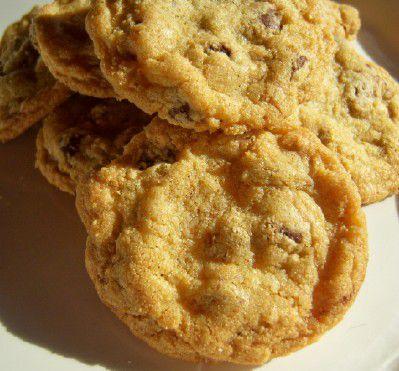 Gluten-free chocolate mint chip cookies