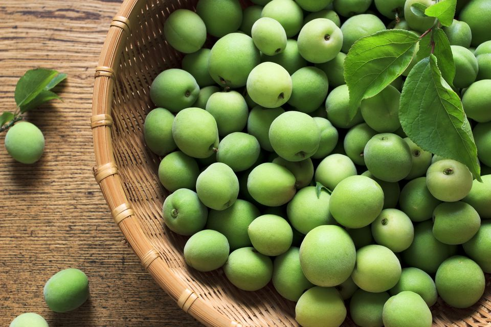 Green plums- maesil