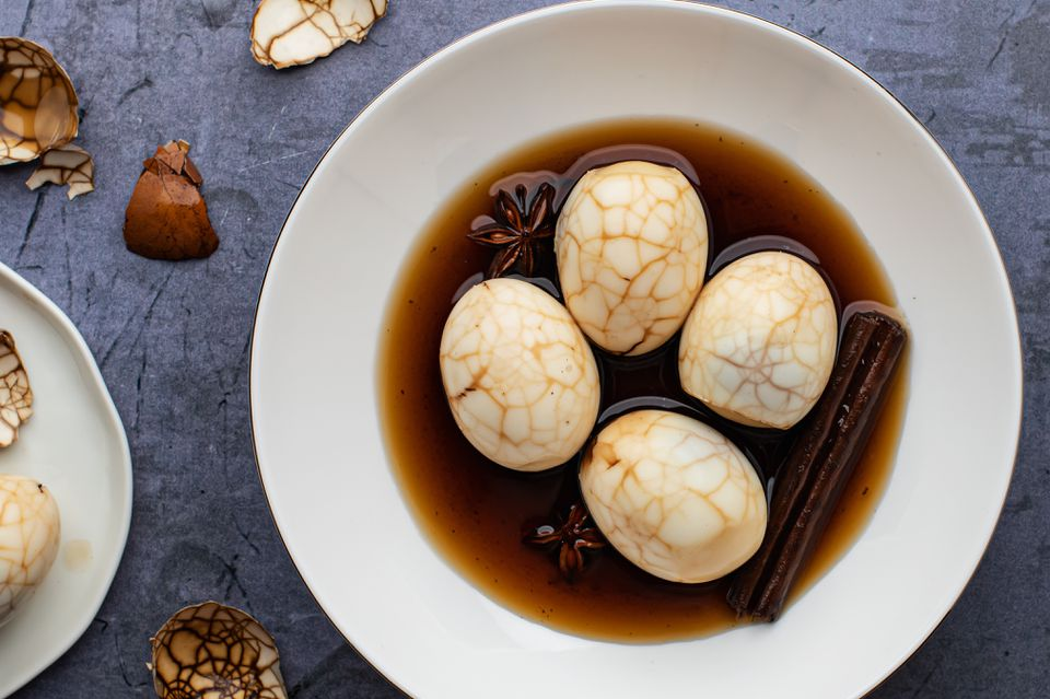 Chinese tea eggs recipe
