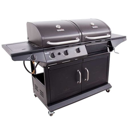 Char Broil Combination Gas Charcoal Grill Model 463724511