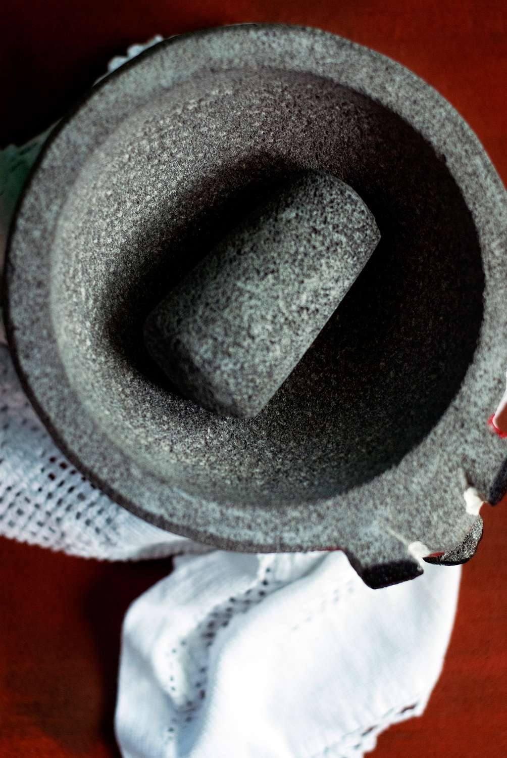seasoning a brand new mortar and pestle introduction
