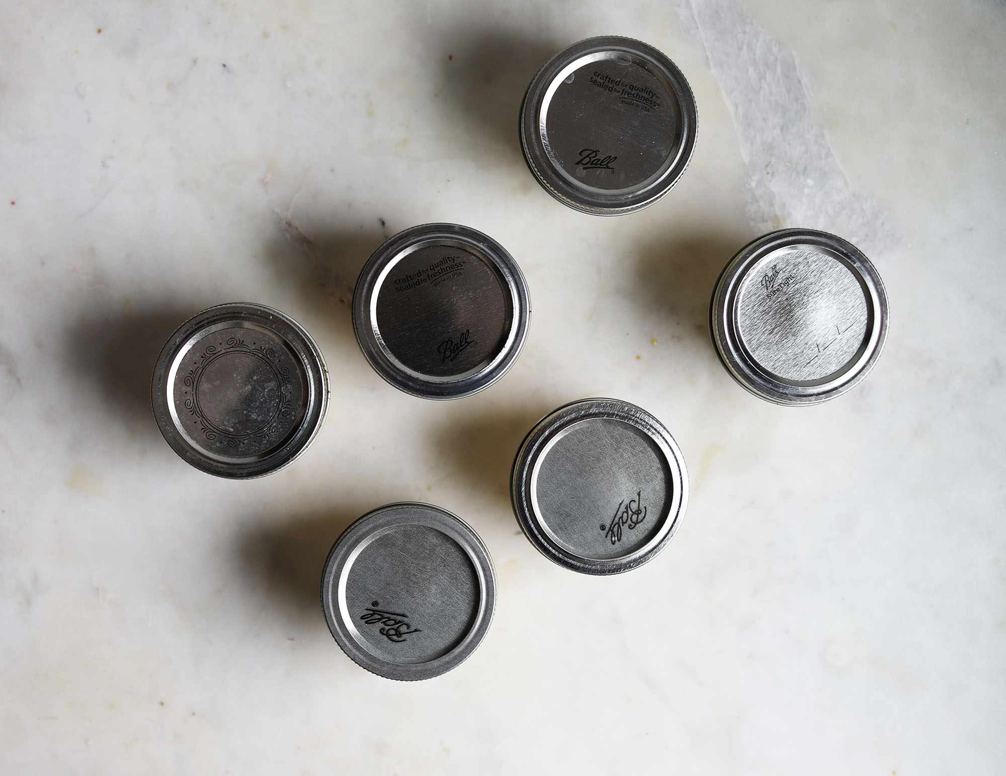 jars with lids closed