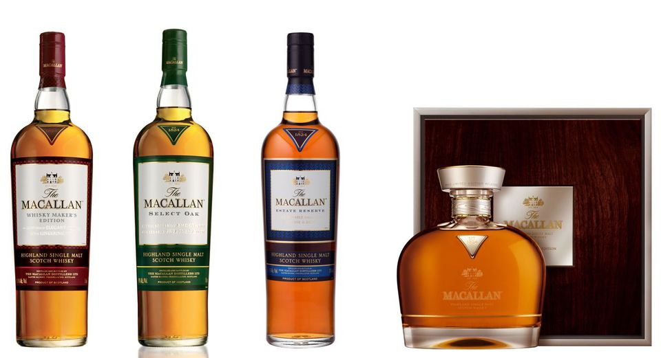 The Macallan 1824 Collection of Scotch Whisky
