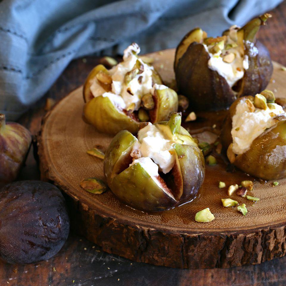 Labneh Stuffed Figs